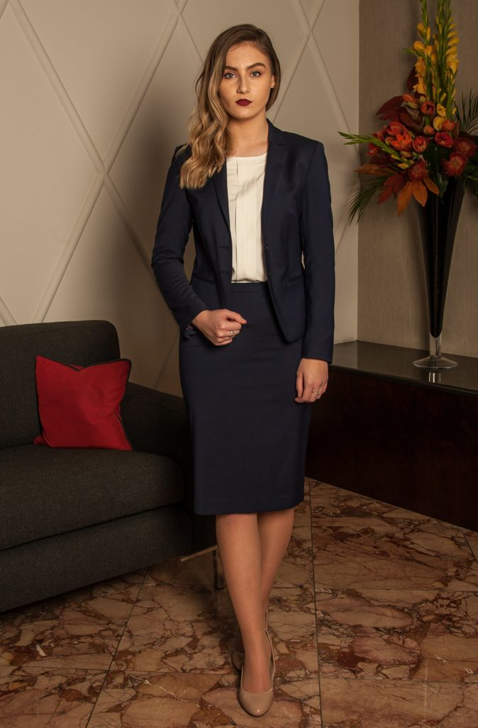 female skirt suit