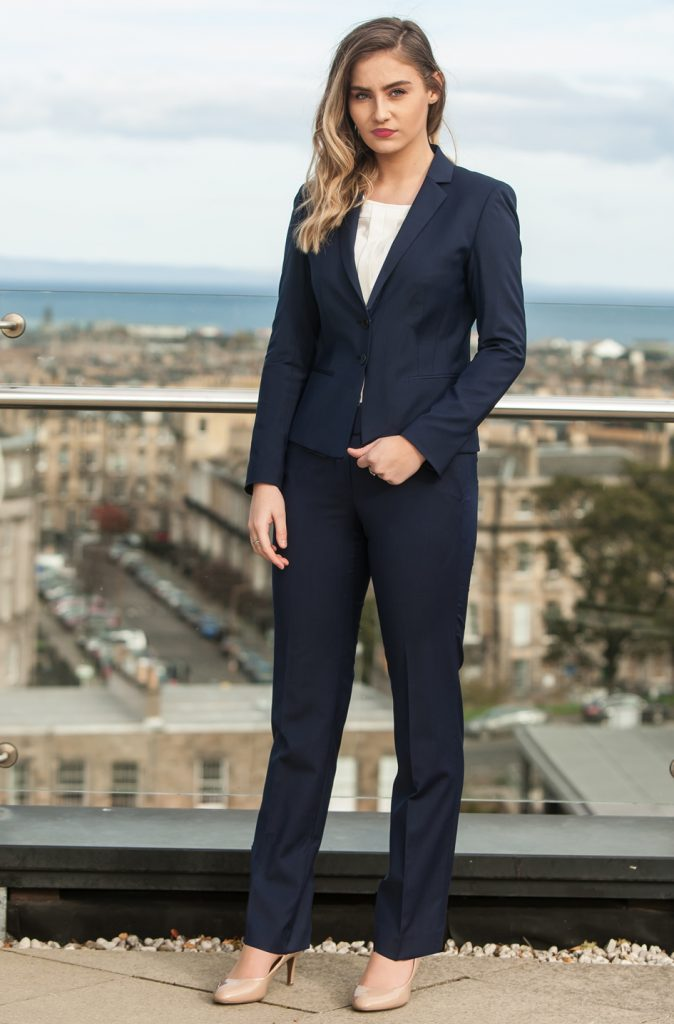female trouser suit